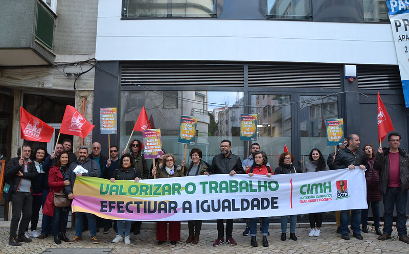 Semana da Igualdade - acções realizadas no dia 5 de Março