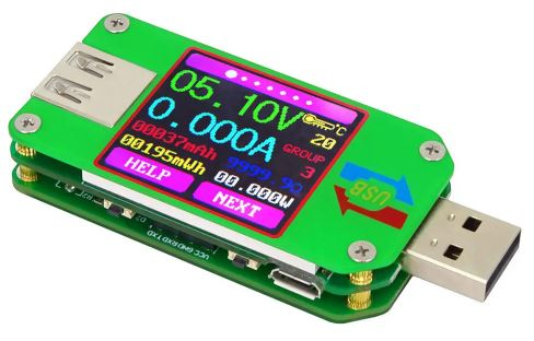 riden um24_um24c usb 2.0 color lcd display tester