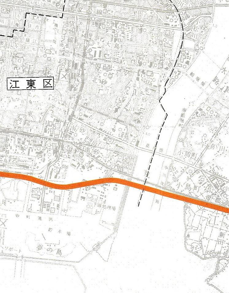 成田新幹線ルート図面 (4)