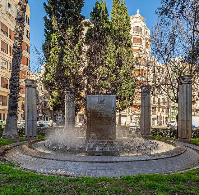 Fountain  (Valencia)  (Olympus OM-D EM1.2 & M.Zuiko 7-14mm f2.8 Wide Zoom) (1 of 1)