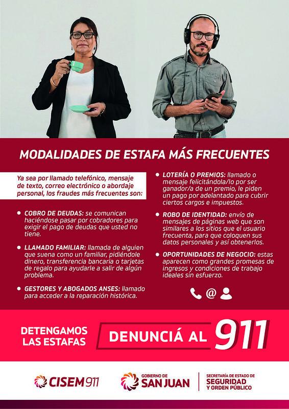 Folleto A5 - Prevención y Detección de Estafas