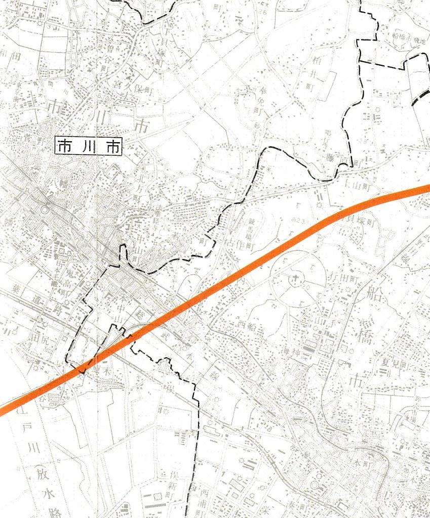 成田新幹線計画図面 (1)
