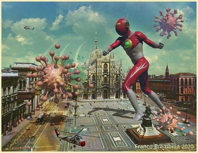 Greetings from Milano, saluti da Milano!