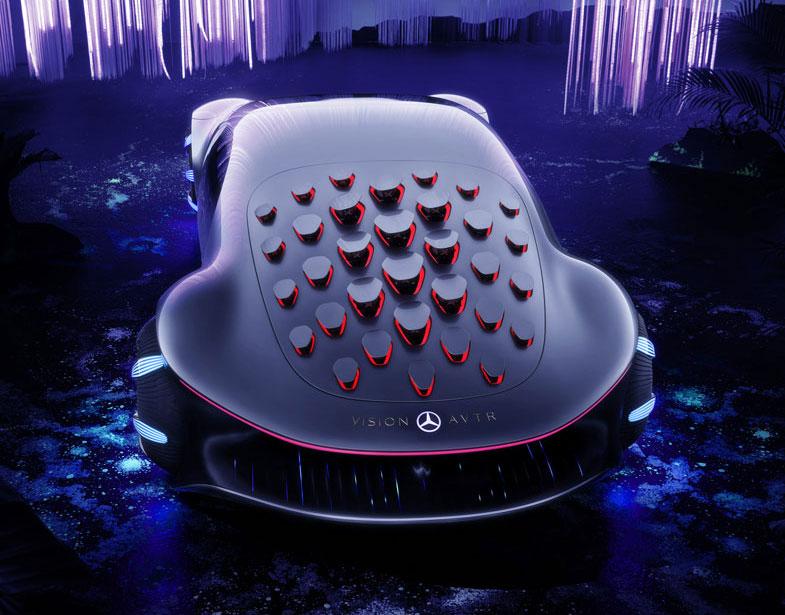 Inspiriert von der Zukunft: Das Mercedes-Benz VISION AVTR // Inspired by the future: The Mercedes-Benz VISION AVTR