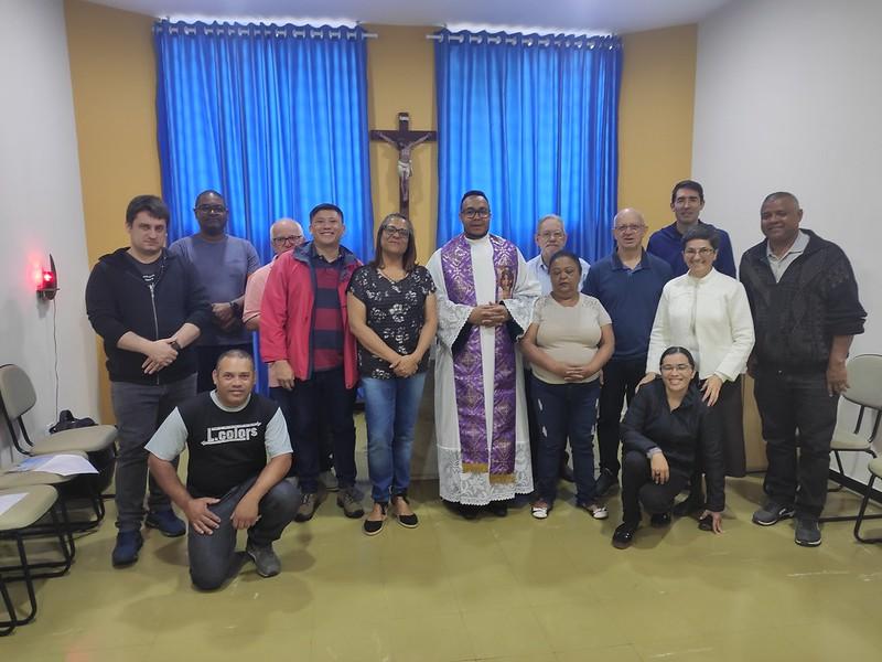 Missa de Março com o funcionários de Cúria Diocesana