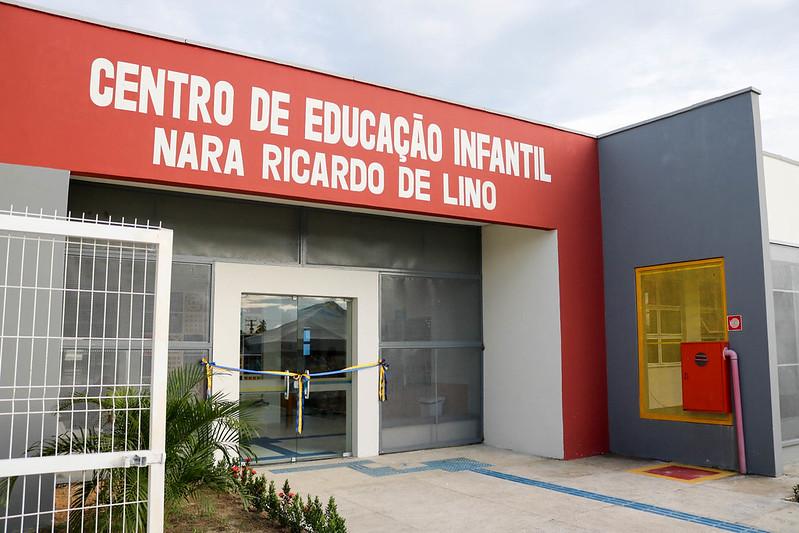Inauguração do CEI Nara Ricardo de Lino