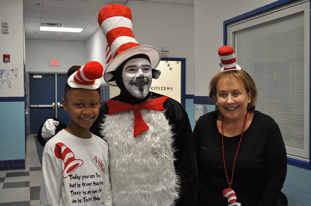 Cat in the Hat Visit and 2nd & 3rd