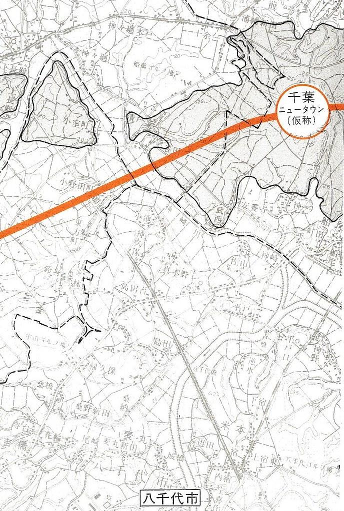 成田新幹線ルート図面 (8)