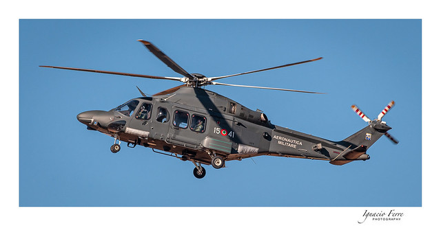 Italy - Air Force (Aeronautica Militare) - Augusta Westland HH-139A (AW-139M) 15-41