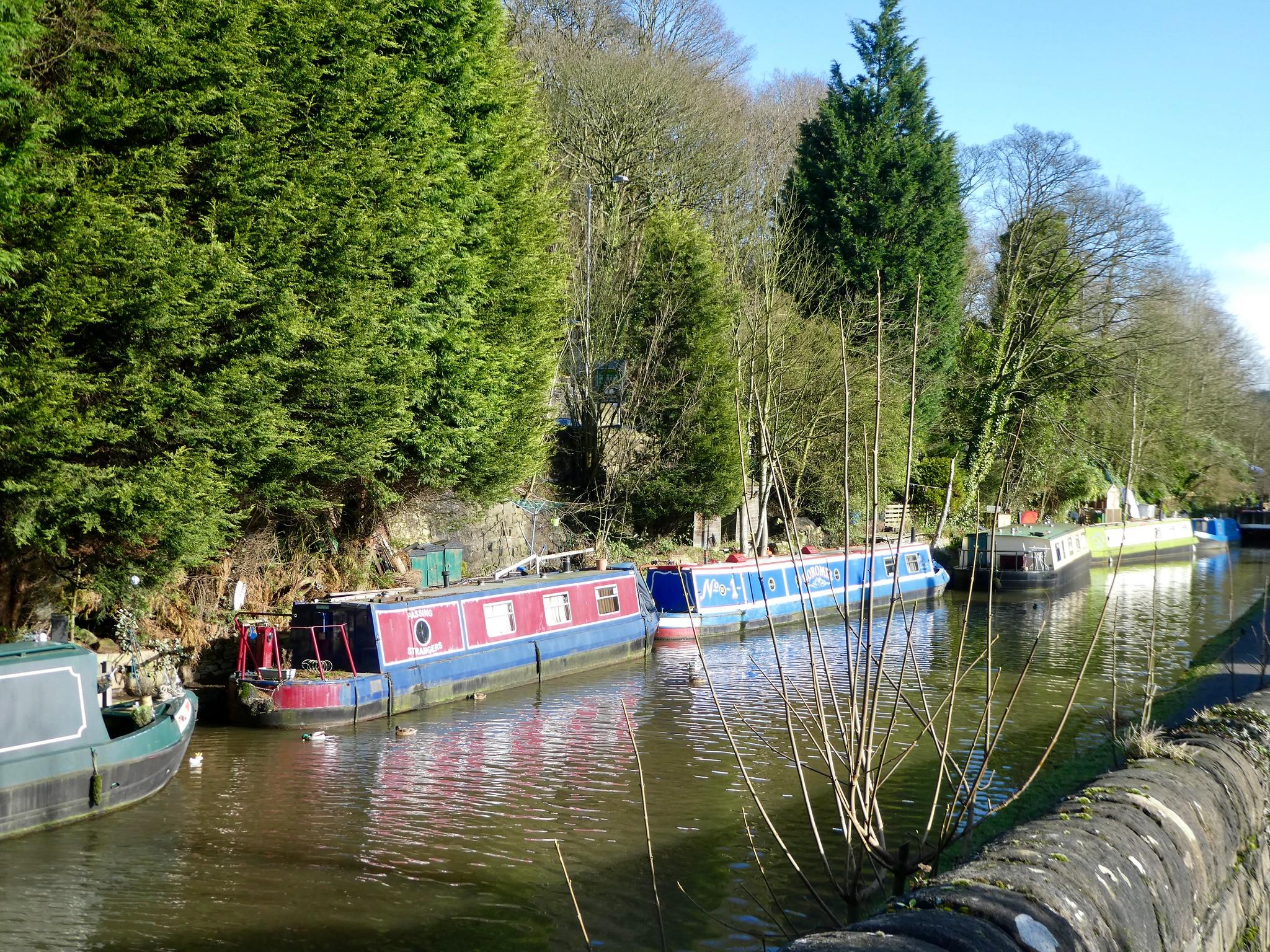 The Rochdale Canal, Hebden Bridge
