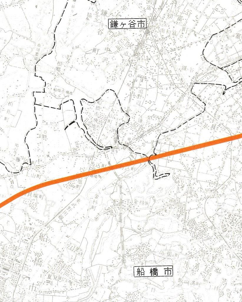 成田新幹線計画図面 (2)