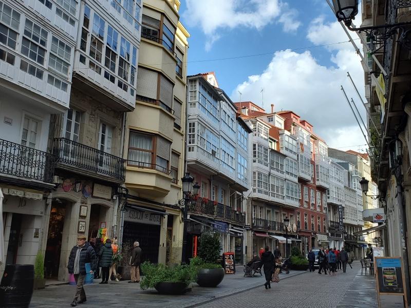 La Coruna streets