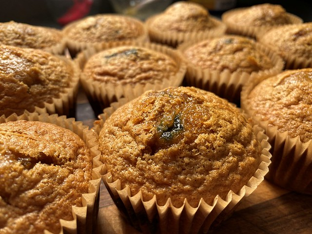 Lemon and Blueberry Muffins!