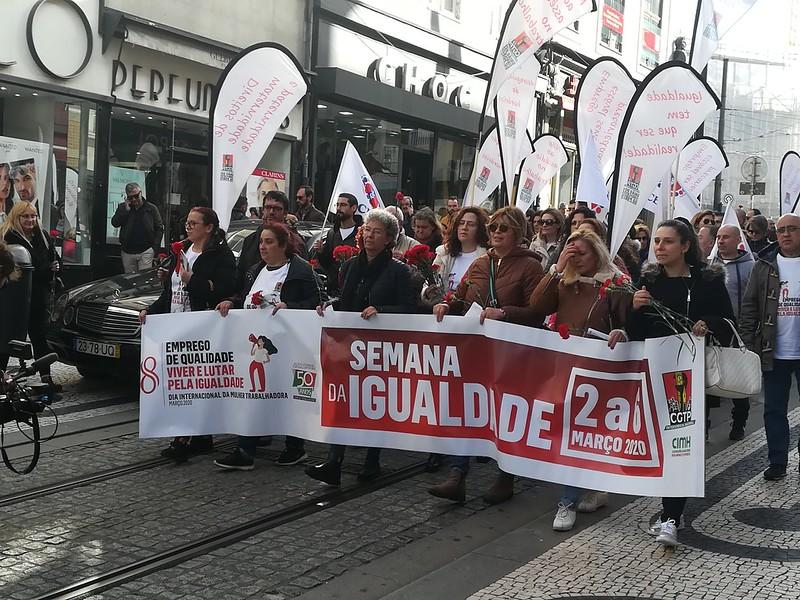Semana da Igualdade - Acções realizadas no dia 6 de Março