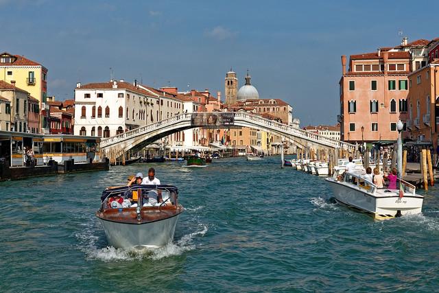 Venezia / Ponte degli Scalzi / Canal Grande