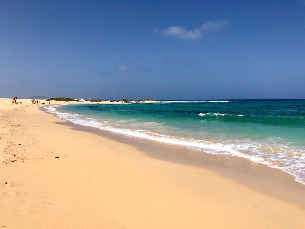 On Playa Del Moro