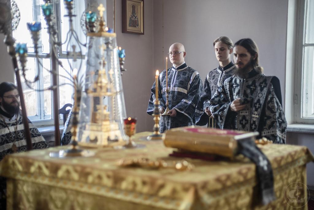 6 Марта 2020, Литургия Преждеосвященных Даров / 6 March 2020, The Divine Liturgy of presanctified Gifts