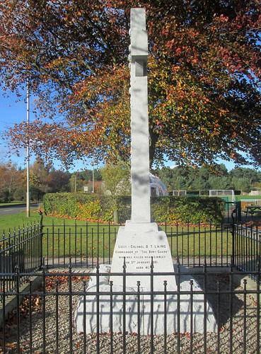 Edzell Boer War Memorial
