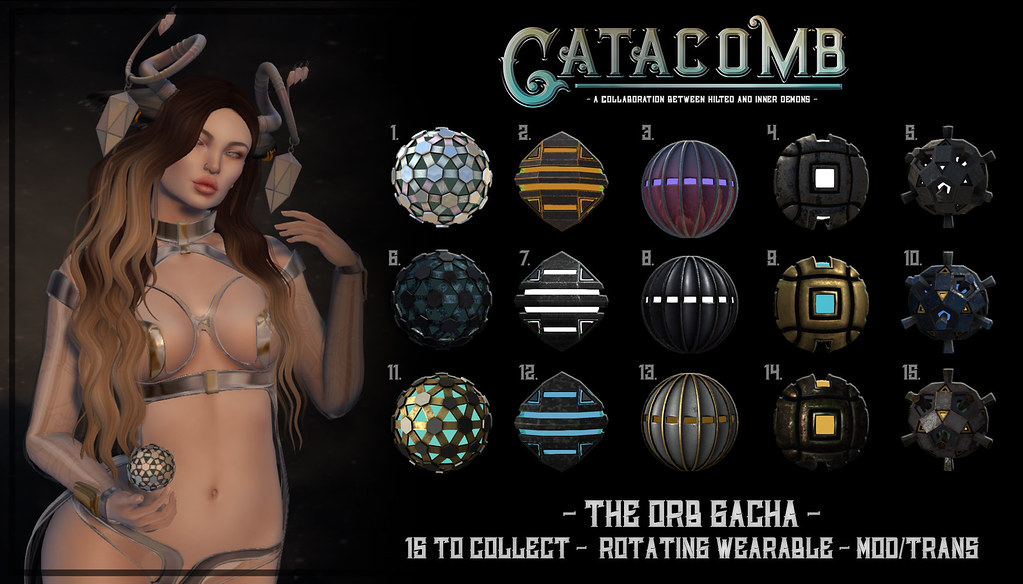 Catacomb The Orb Gacha @ ACCESS CYBER FAIR