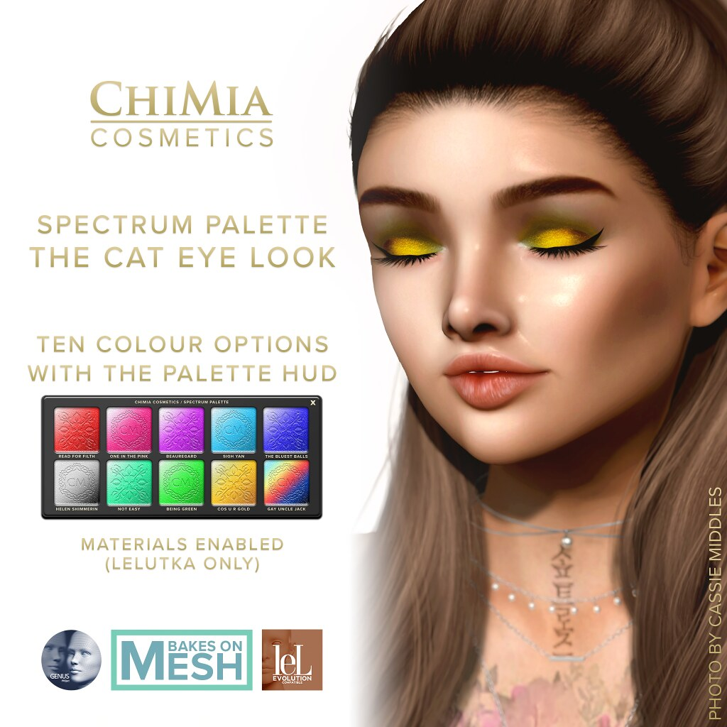 Fifty Linden Fridays 6 Mar: Cat Eye Cosmetics by ChiMia