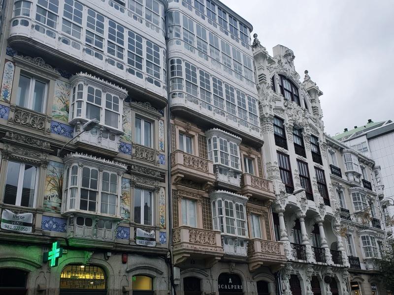 La Coruna architecture
