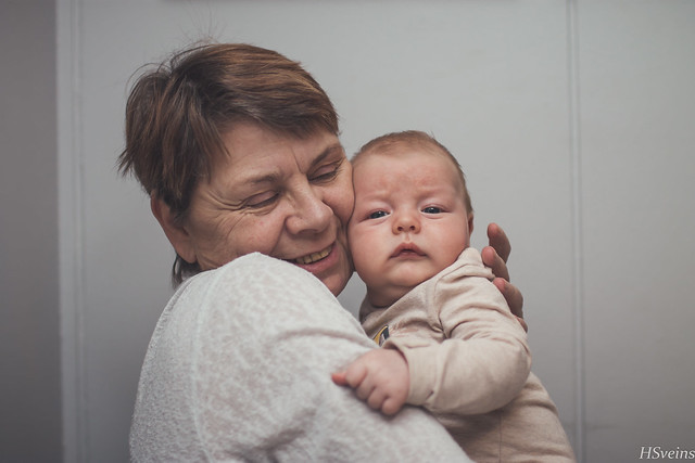 No one loves a child more than grandmas do