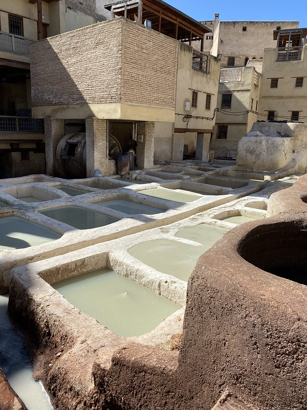 Marokon Fes | Nähtävyydet, nahkavärjäämö