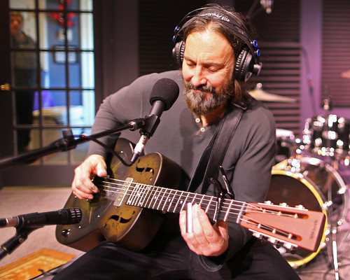 Brother Dege at WWOZ - March 6, 2020. Photo by Bill Sasser.