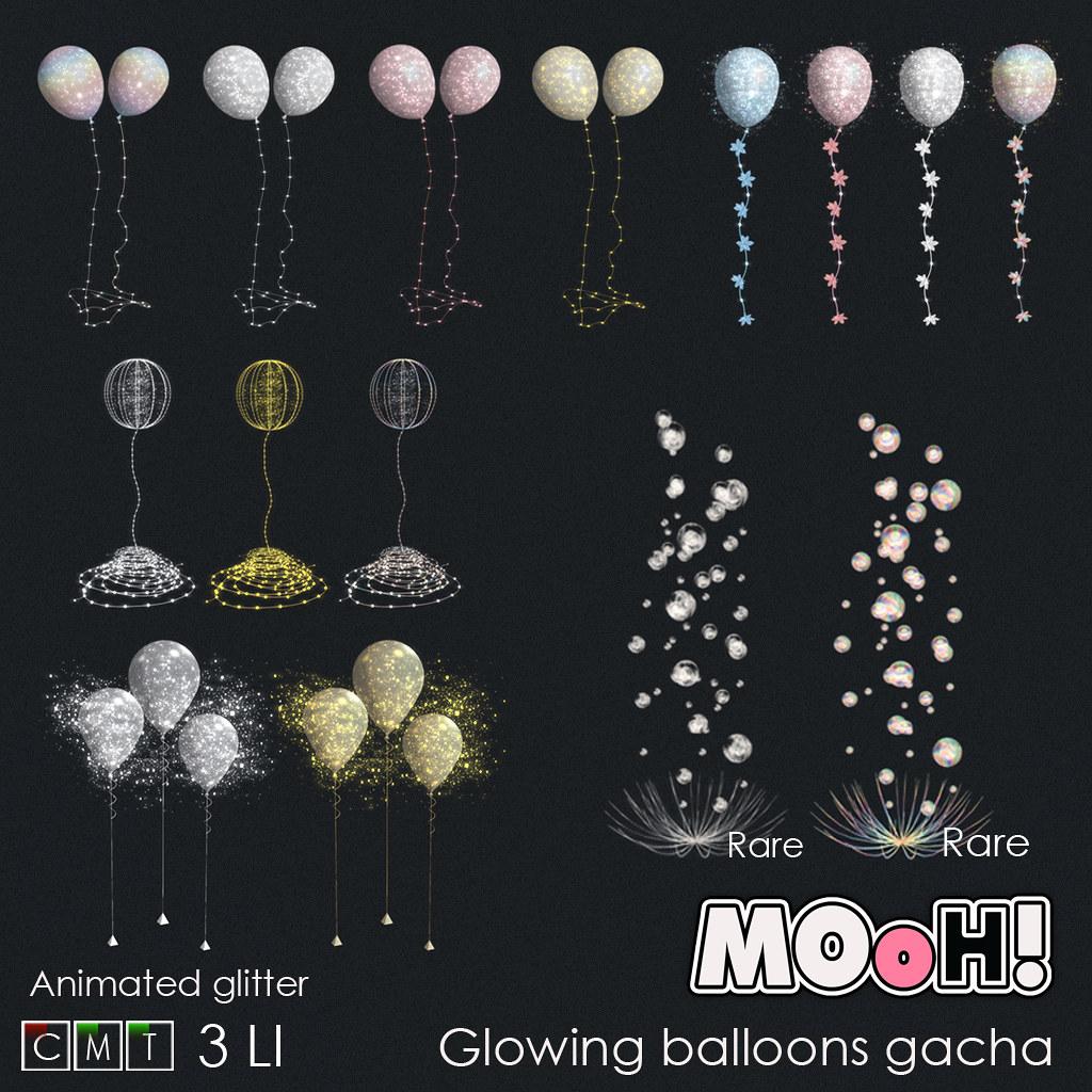 MOoH! Glowing balloons gacha