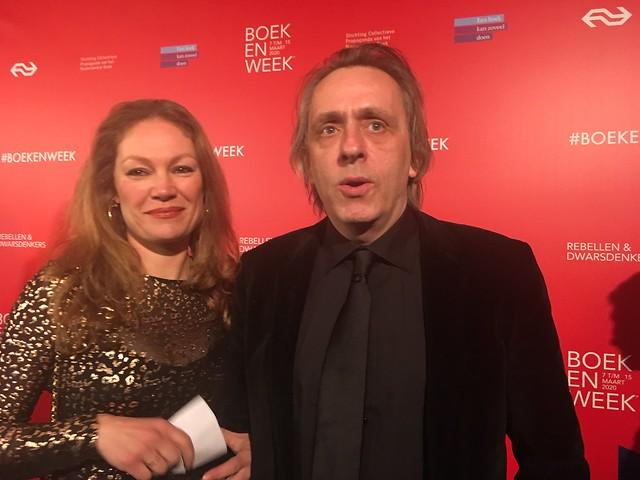 Eva Hoeke en Marcel van Roosmalen