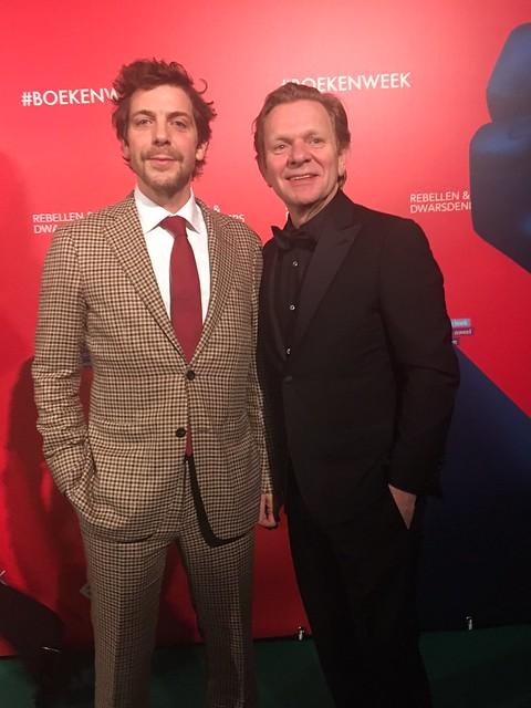 Ramsey Nasr en Michiel van Erp