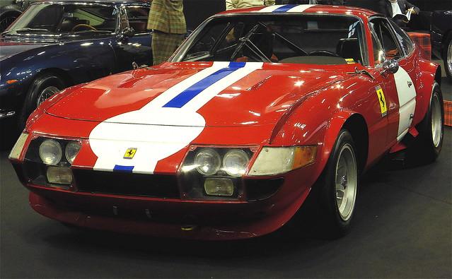 Ferrari 365 GTB/4, ex. 6ème Le Mans 1972, Posey et Adamovicz