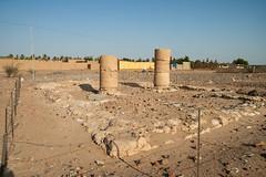 Sedeinga Nilwa Church Reused Pharaonic Columns Amenhotep III Medieval