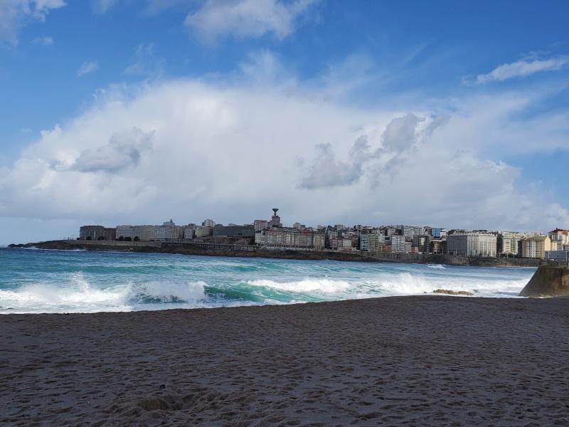 La Coruna beach