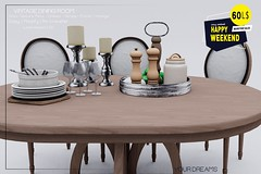 {YD] Vintage Dining Room