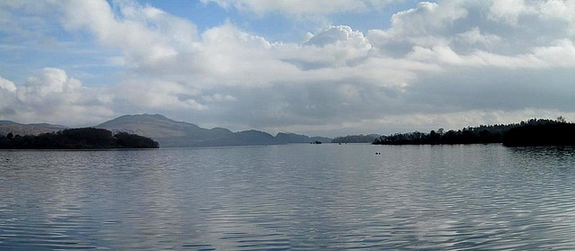 Loch Lomond panorama, Scotland
