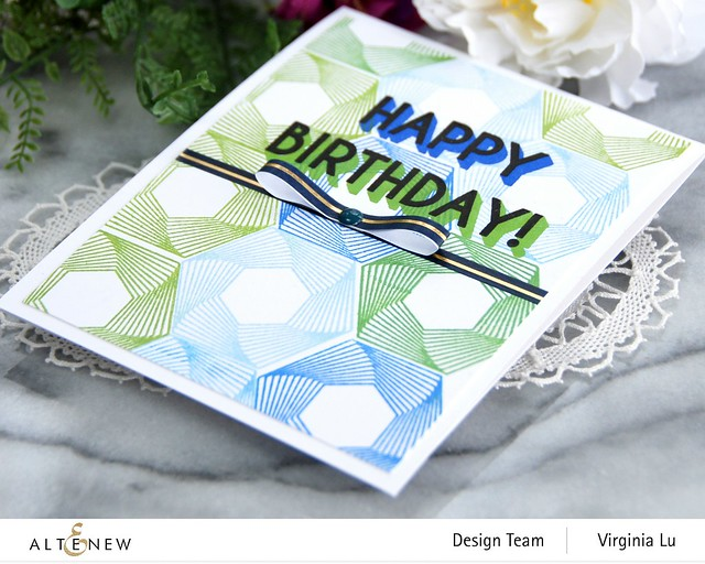 Altenew-Spheres & Spirals Stamp Set-HappyBirthdayTo You Stamp Set-Virginia#2