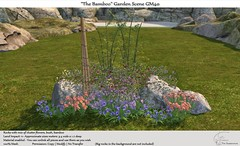 ".:Tm:.Creation ""The Bamboo"" Garden Scene GM40"