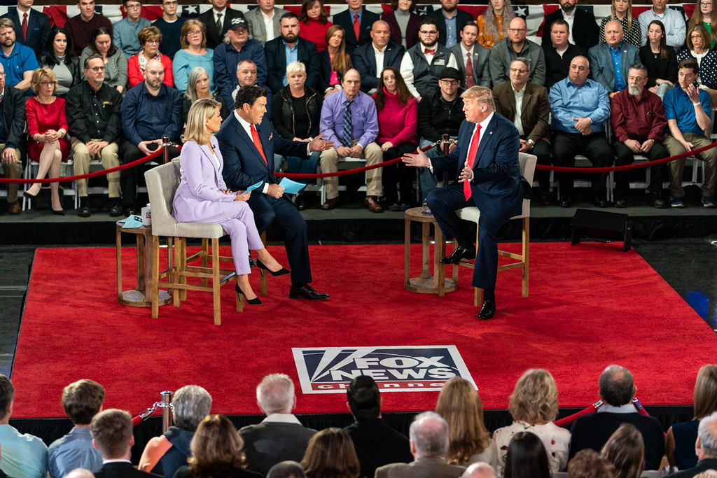 President Trump at the Fox News Town Hall