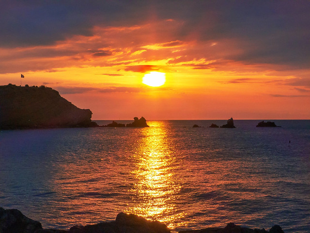 Le Cap d'Agde au petit matin