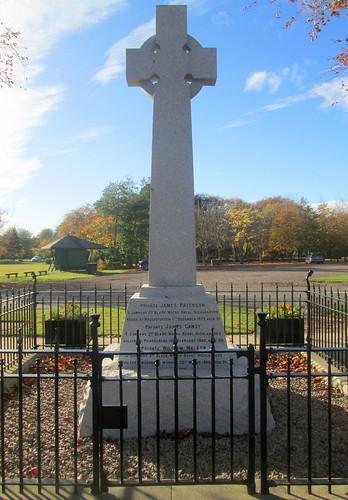 Reverse Boer War Memorial, Edzell 3