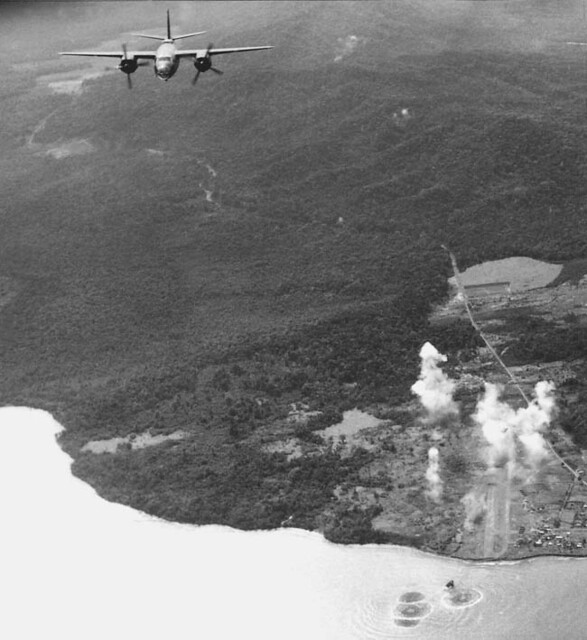 B-26 Over Lae