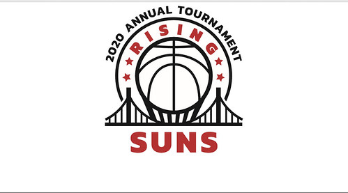 2020 19th Annual East Bay Rising Suns Tournament Logo