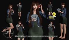 Secret Poses - Money Money@Happy Weekend  HW Ad.