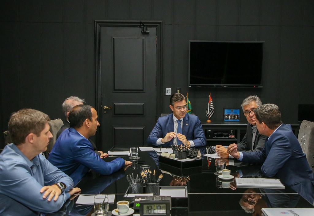 Reunião com Prefeitos da Baixada Santista