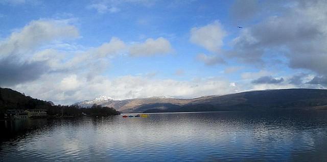 Loch Lomond, Ben Lomond panorama