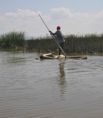 Going fishing in Lake Awasa