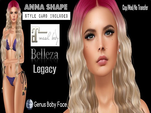 1L Gift Anna Shape for Genus Baby Face