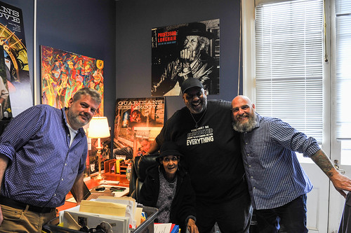 Dave Ankers, Dee Lindsey, Gerald French, Murf Reeves - March 5, 2020. Photo by Michael E. McAndrew.