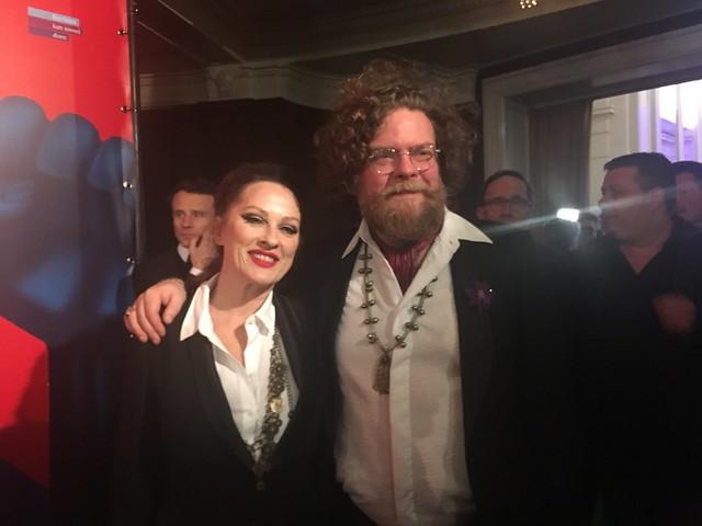 Nikkie Van Lierop en Jeroen Olyslaegers